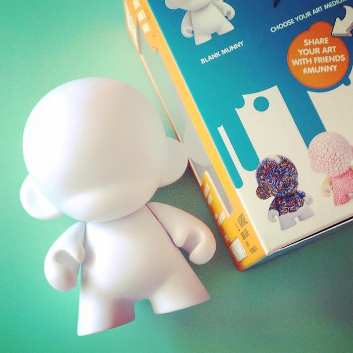 'Jesper' Printed on Kidrobot Munny Box