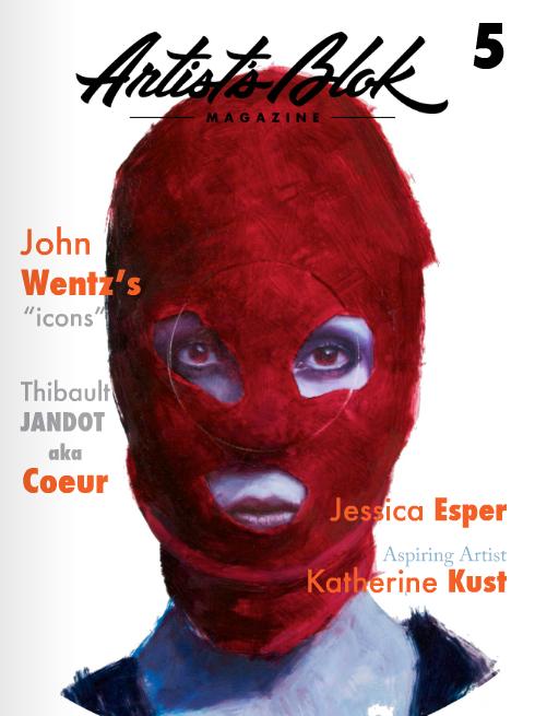 "Artist Blok Magazine Issue #5 - Featuring ""The Graphix Chick"""