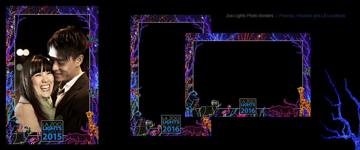Zoo Lights Borders