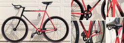 Hand Painted Bicycle Frame