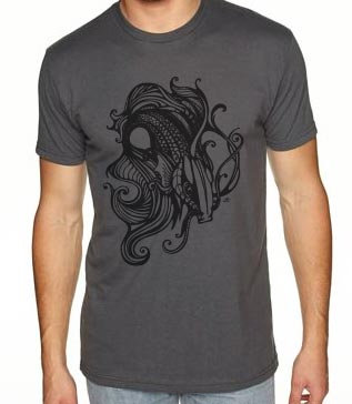 'Betta' Screen Printed T-Shirt - MENS