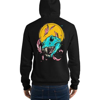 Cat Skull - Unisex hoodie - By Jessica Esper