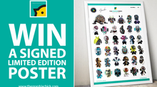 WIN A SIGNED, LIMITED EDITION ART TOY POSTER!