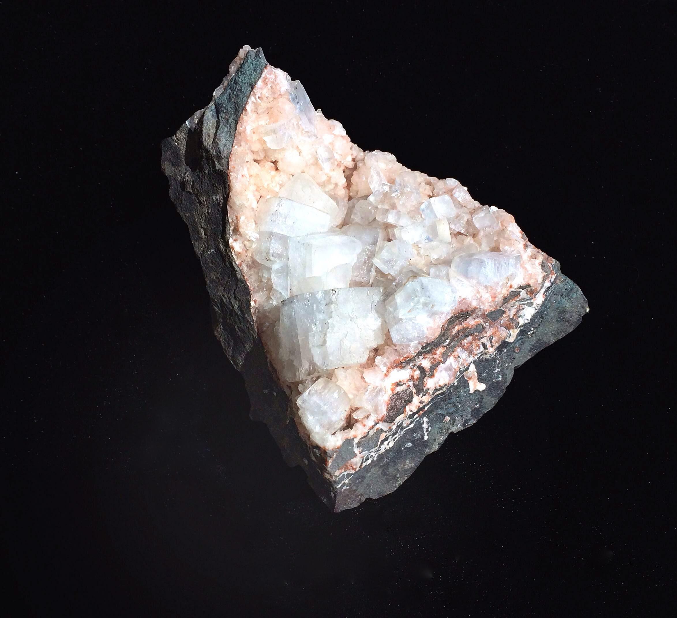 Apophyllite with Pink Heulandite