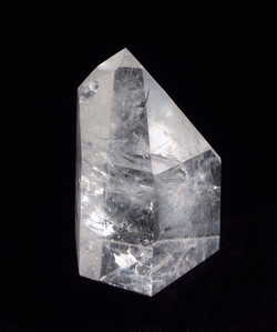 Standing Polished Clear Quartz Point