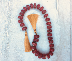 Red Coral Meditation Tool