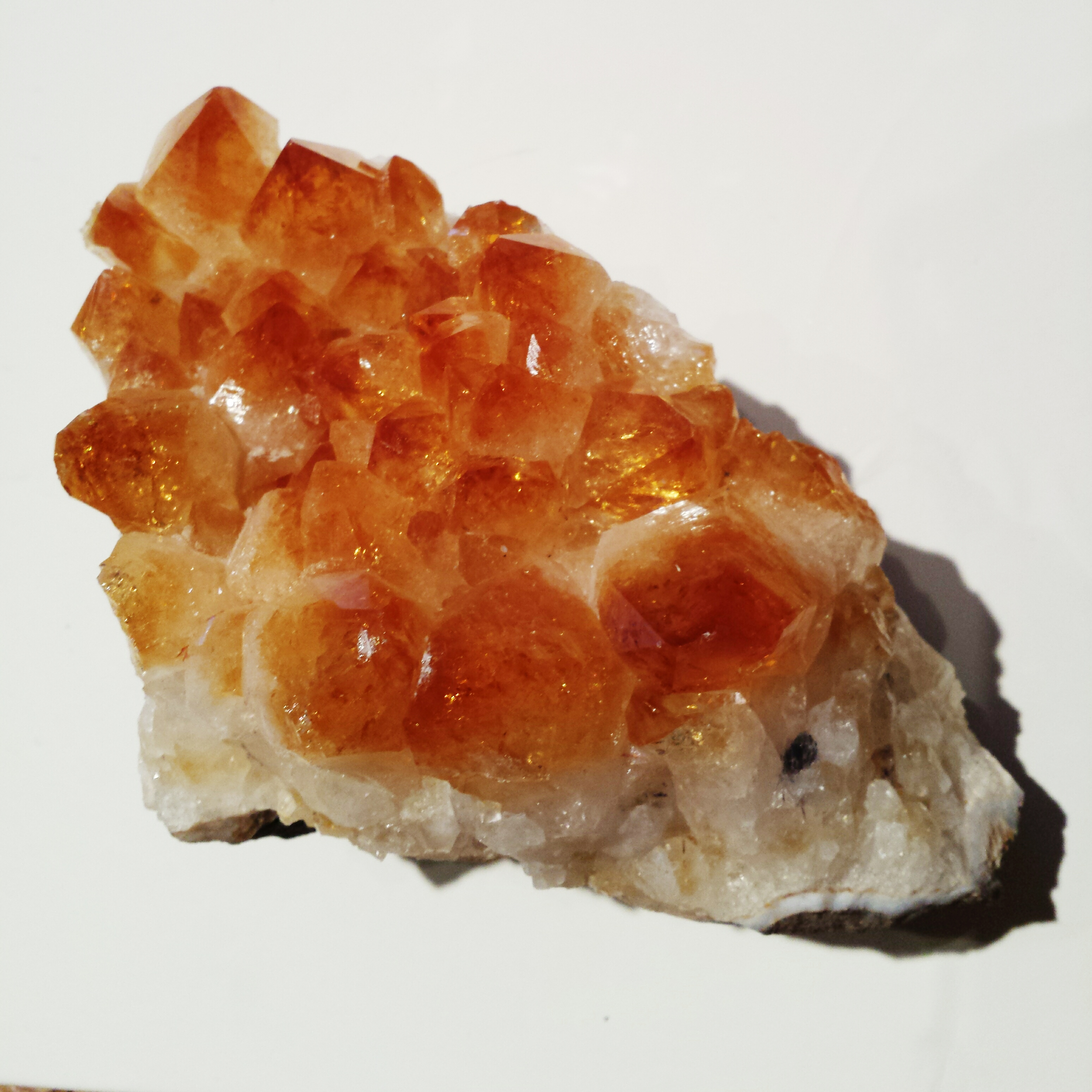 Large Citrine Clusters