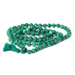 Malachite Mala Beads