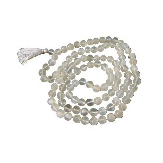 Moon Stone Mala Beads