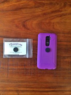 Shungite Cell Phone Disk