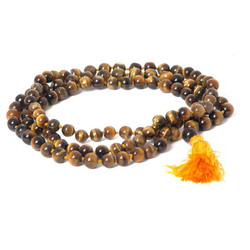 Tiger's Eye Mala Beads