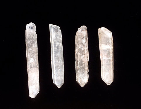 Small Singing Quartz Temple Wands