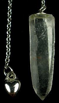 Lemurian Seed Crystal Pendulum