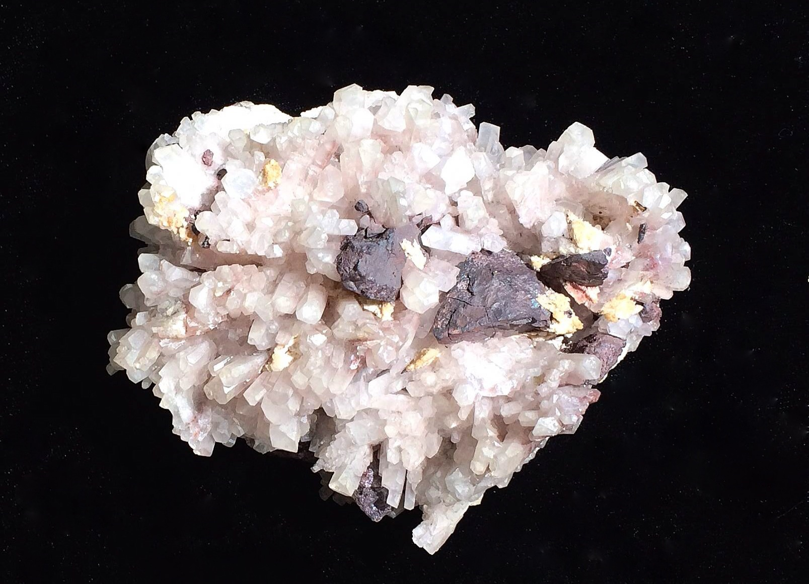 Calcite with Hematite