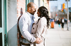 queen street west engagement session