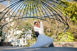 toronto music garden wedding photo location