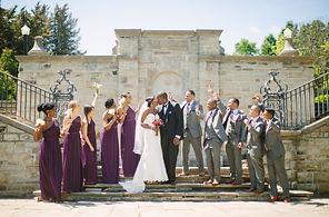 alexander muir gardens wedding photo location
