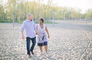 woodbine beach toronto engagement photo locations