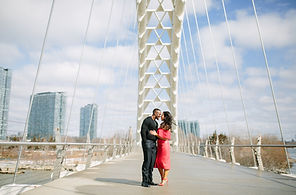 humber bay arch bridge toronto wedding photo location