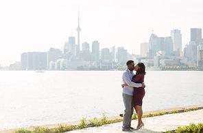 polson pier engagement shoot photos