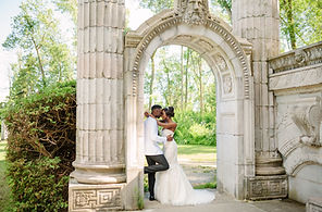 guild inn estate toronto wedding photo locations