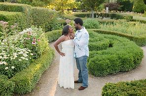 toronto botanical engagement shoot photo location