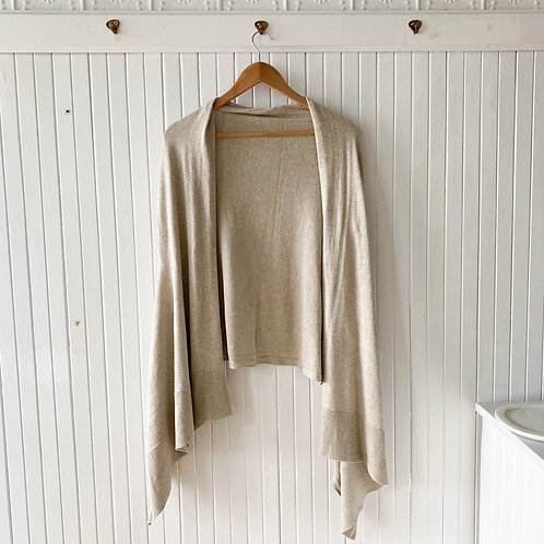 Organic cotton shawl