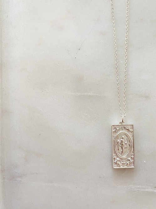 Renissance woman pendant