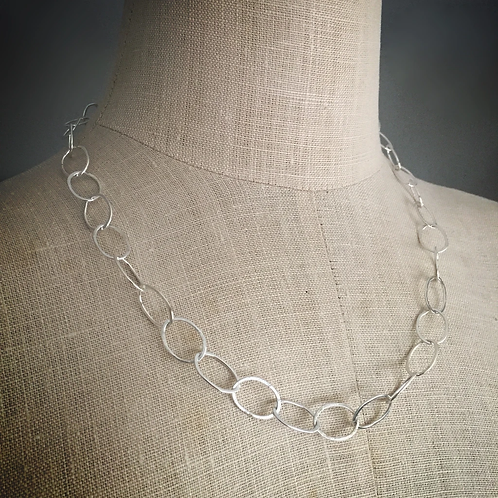 organic oval chain