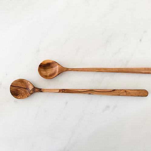 Olivewood tasting spoon