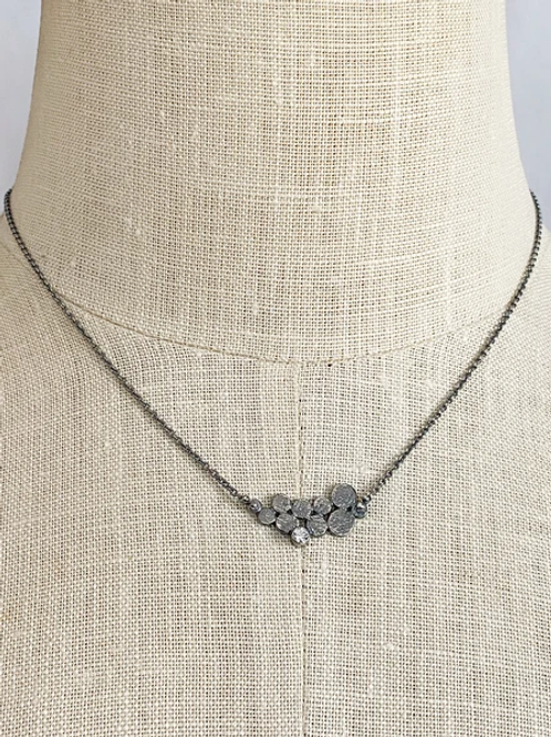 katherine necklace oxidized silver