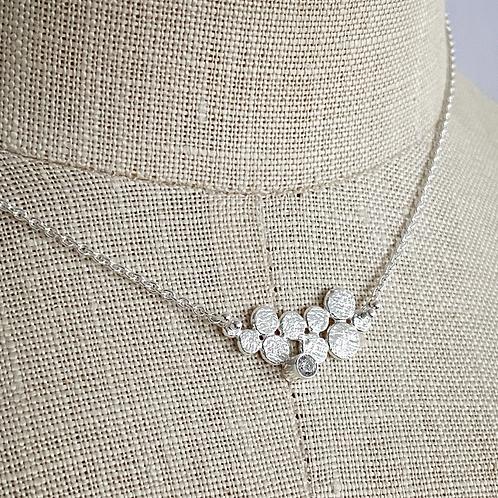 katherine necklace bright silver