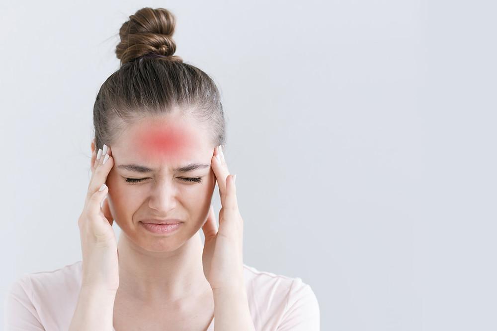 Migraine, mal de tête, maux de tête, douleur tête