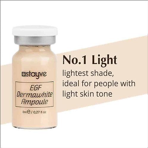 BB glow Dermawhite fåes i 5 nuancer