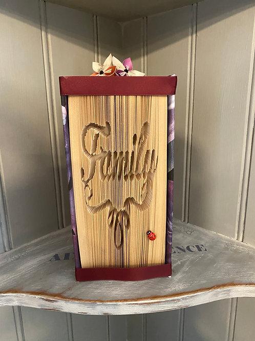 Family Folded Book