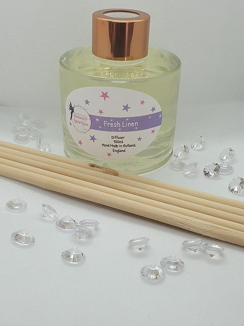 Fresh Linen Scented Room Diffuser