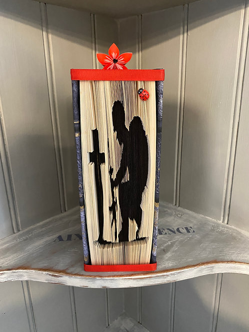 Rememberance Soldier Folded Book