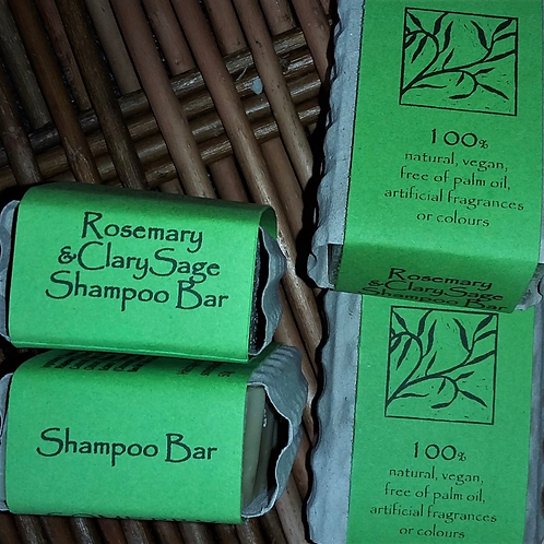 Rosemary and Clary Sage Shampoo Bar
