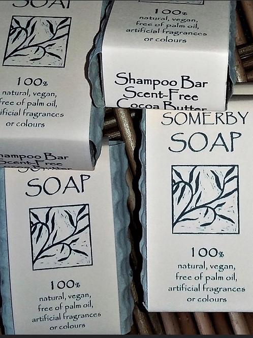 Scent Free Cocoa Butter Shampoo Bar 50g