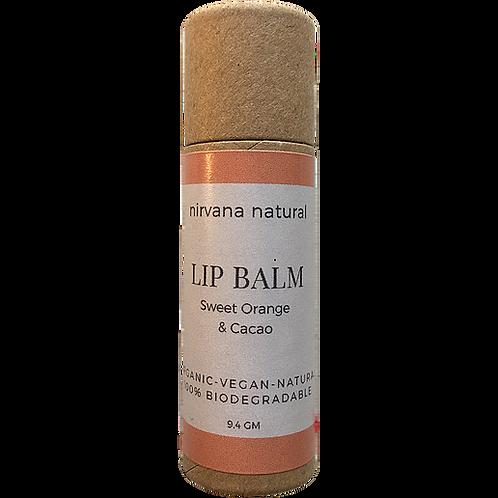 Sweet Orange & Cacao Lip Balm
