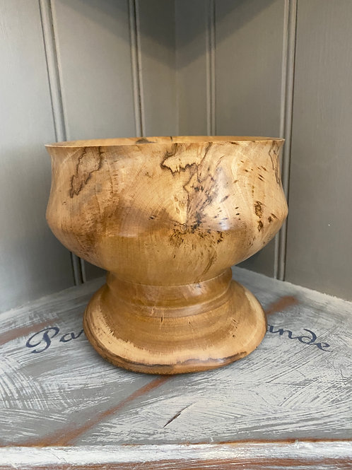 Sycamore Pedestal Bowl