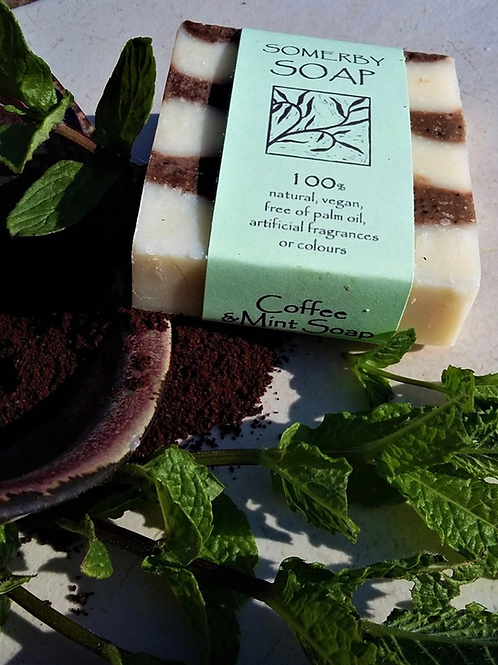 Coffee and Mint Somerby Soap