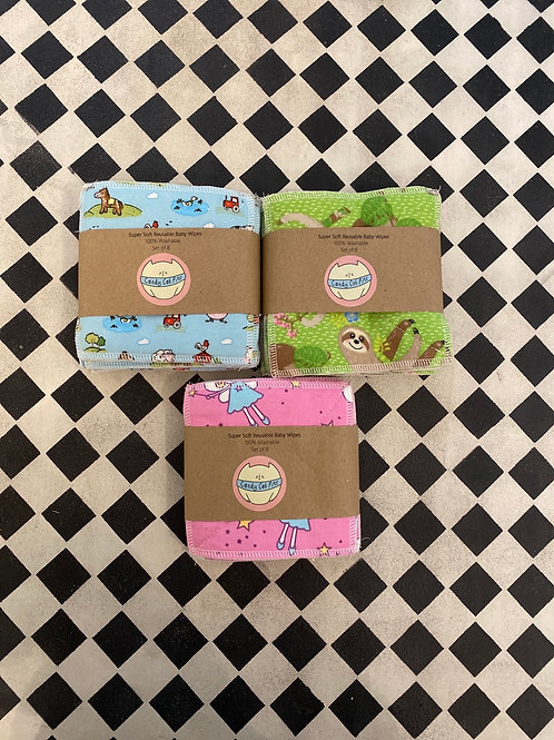 Super Soft Reusable Baby Wipes Fleece