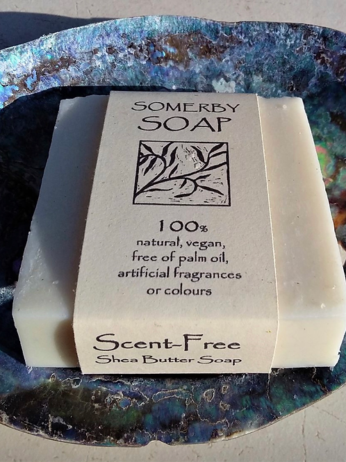 Scent Free Shea Butter Somerby Soap 100g