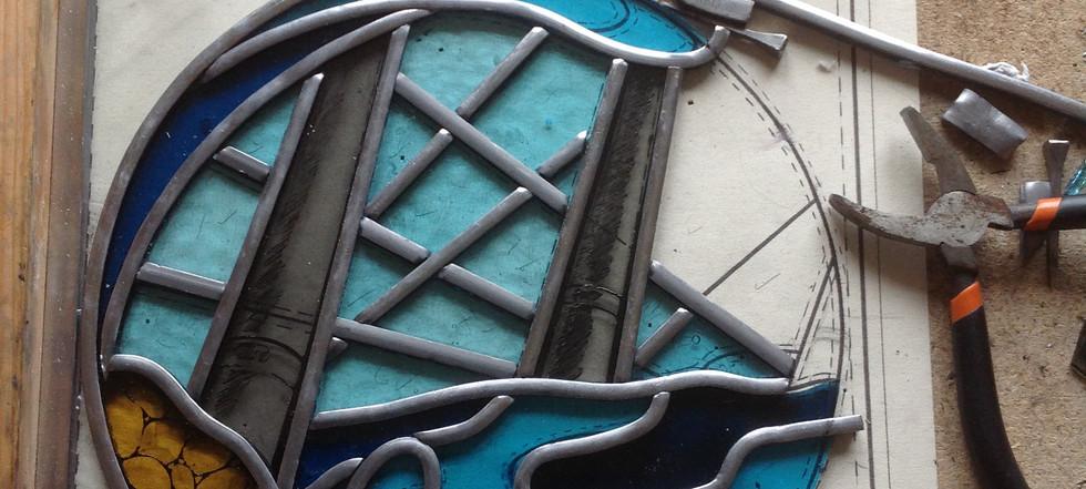 Ruth Mullan Stained Glass Artist Brighton