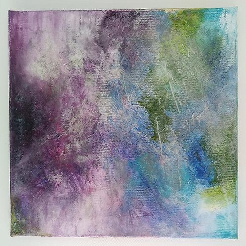 """""""Flow"""" - 30 x 30 cm   Unikat"""