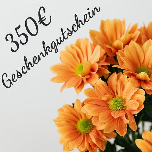 Geschenkgutschein - 350€ -