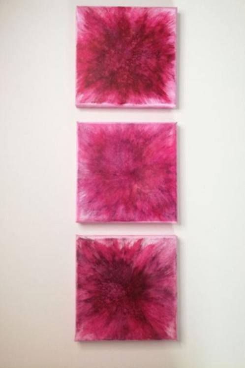 Blooming Pearls - Triologie a 15 x 15 cm | Unikat