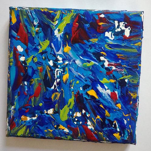 Meereswelt - 15 x 15 cm