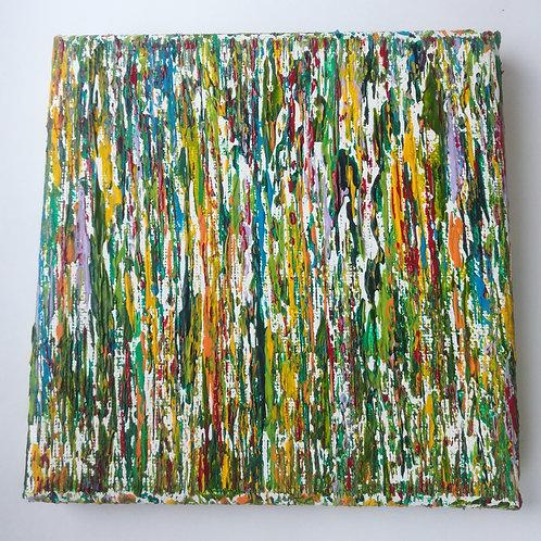 Buntes Leben - 15 x 15 cm